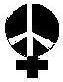 woman/peace